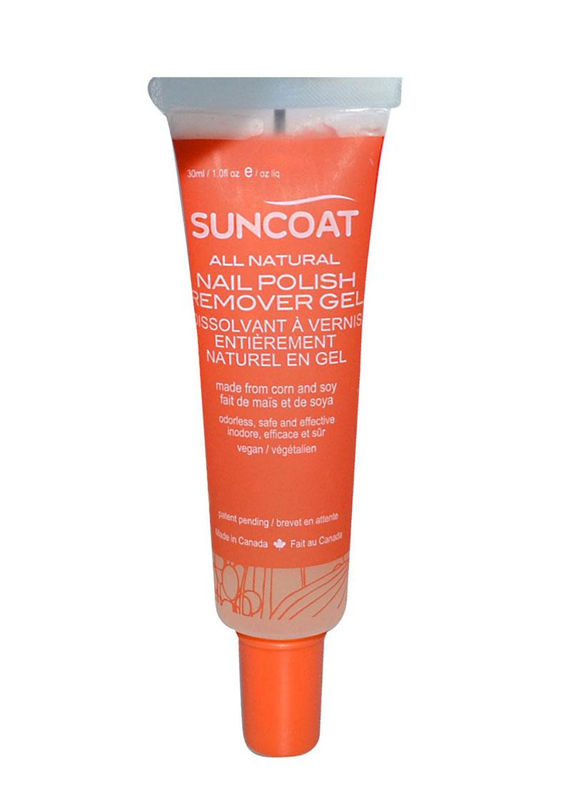 Natural Nail Polish Remover Gel Suncoat