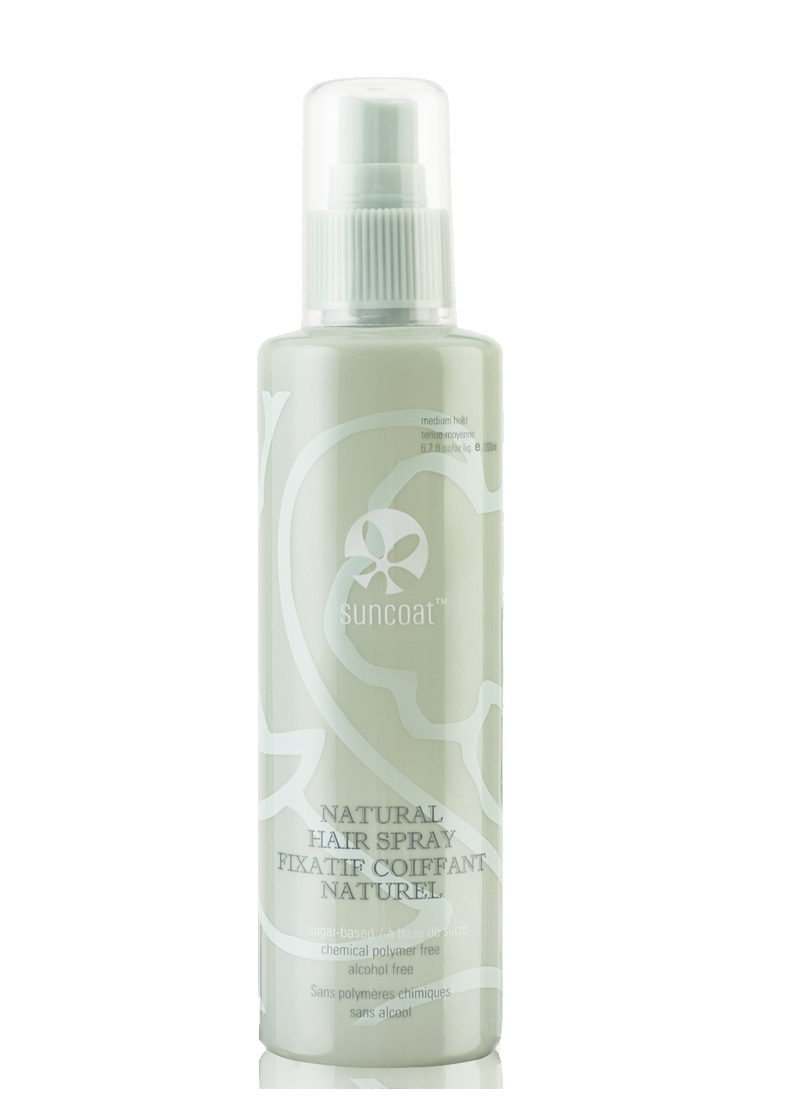 Natural Hair Spray Fragrance Free Suncoat